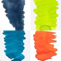 Fountain Pen Ink colour selection pack