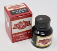 Blackbird Black Fountain Pen Ink