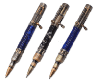 Steampunk Bolt Action Pen Kit