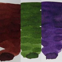 Mabie Todd Fountain Pen Bottled Ink Colour Pack 2 | Greenvill Crafts